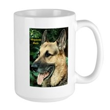German Shepard Ceramic Mugs
