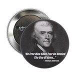 "The Use Of Arms... 2.25"" Button (100 pack)"