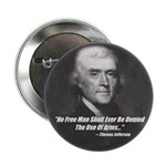 "The Use Of Arms... 2.25"" Button (10 pack)"