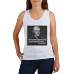 The Use Of Arms... Women's Tank Top