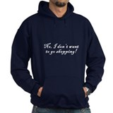 No Shopping Hoody