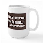 The Use Of Arms... Large Mug