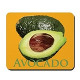 Avocado and Half Mousepad