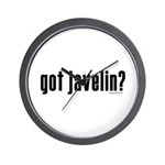 got javelin? Wall Clock
