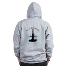 My Submariner My Love Zip Hoodie