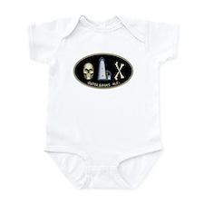OBX-Ocracoke Skull-n-Bones Infant Bodysuit