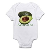 Avocado and Half Onesie