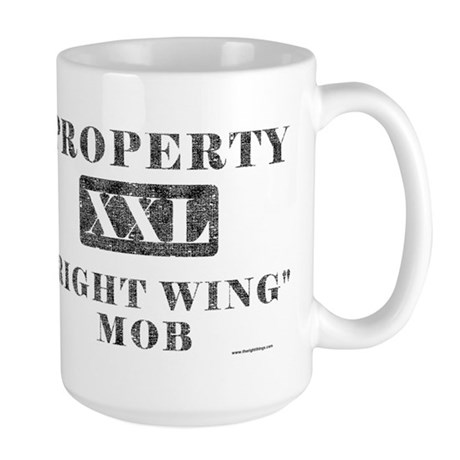 Right Wing Mob Large Mug