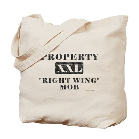 Right Wing Mob Tote Bag