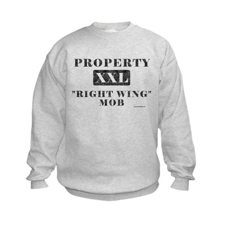 Right Wing Mob Kids Sweatshirt