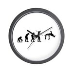 High Jump Evolution Wall Clock