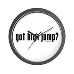 got high jump? Wall Clock
