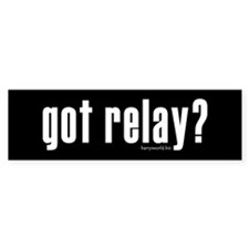 got relay? Bumper Sticker (10 pk)