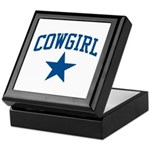 Cowgirl Keepsake Box