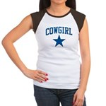 Cowgirl Women's Cap Sleeve T-Shirt