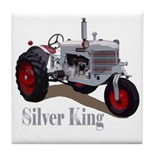 Cool Tractors Tile Coaster
