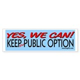 Keep the Public Option! Bumper Sticker (10 pk)