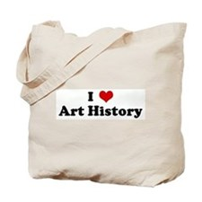 I Love Art History Tote Bag