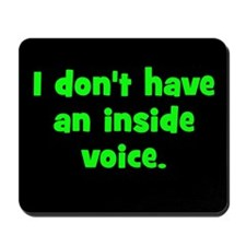 Kids Inside Voice Mousepad