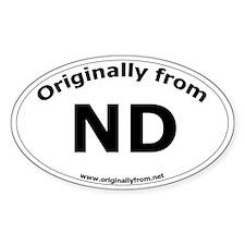 ND (Oval)