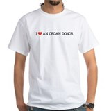 I Love an Organ Donor Shirt