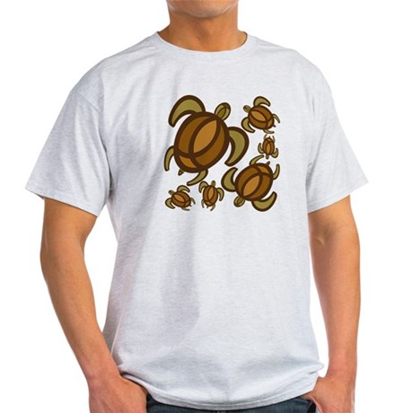 Rust Turtles Light T-Shirt
