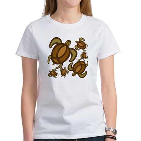 Rust Turtles Women's T-Shirt