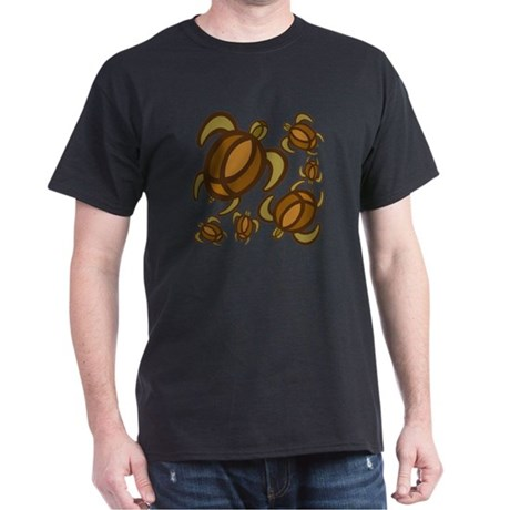 Rust Turtles Dark T-Shirt