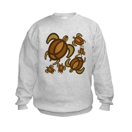 Rust Turtles Kids Sweatshirt