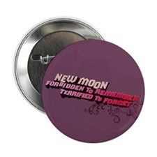 "Ornamental New Moon 2.25"" Button (100 pack)"