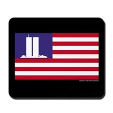 The WTC Memorial Flag Mousepad
