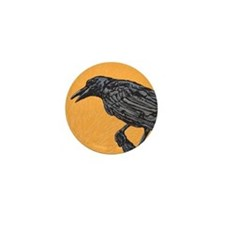 Raven Mini Button