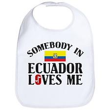 Somebody In Ecuador Bib
