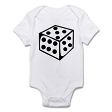Dice - Five Infant Bodysuit