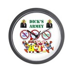 Dick's Armey Wall Clock