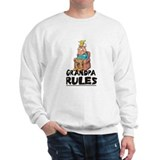 GRANDPA RULES  Sweatshirt