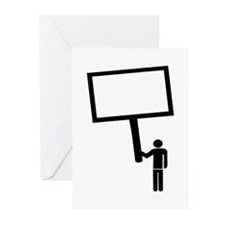 Message - Text Greeting Cards (Pk of 20)