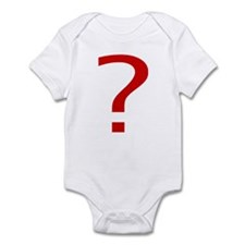 Question Mark Infant Bodysuit