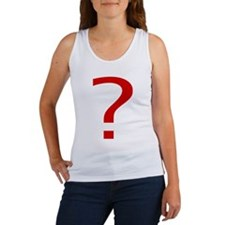 Question Mark Women's Tank Top