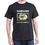 Seismic Activity Black T-Shirt