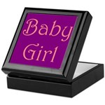 Baby Girl's Room Keepsake Box