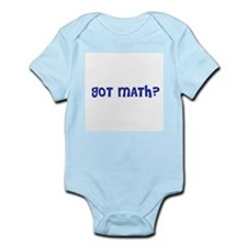 got math? Infant Creeper