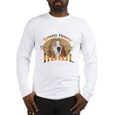 Bassett Sleep Eat Howl Long Sleeve T-Shirt
