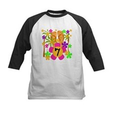 Luau 7th Birthday Tee