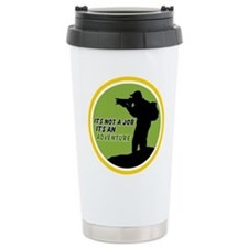 it's not ajob it's an adventu Ceramic Travel Mug