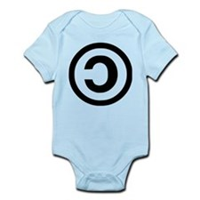 Copyleft Infant Bodysuit