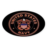 UNITED STATES NAVY Oval  Aufkleber