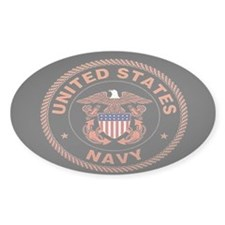 UNITED STATES NAVY Oval Decal