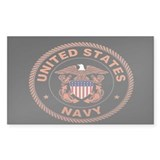 UNITED STATES NAVY Rectangle Decal