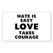Hate Love Decal